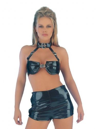 PVC Hotpants with Buckles (Classified GW2126)